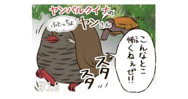 #16「カタイ生き物がとおる道!」